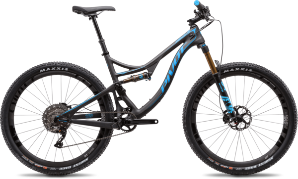 Pivot Cycles Mach 4 Carbon Pro XT XC Race Components in image may differ from actual product.
