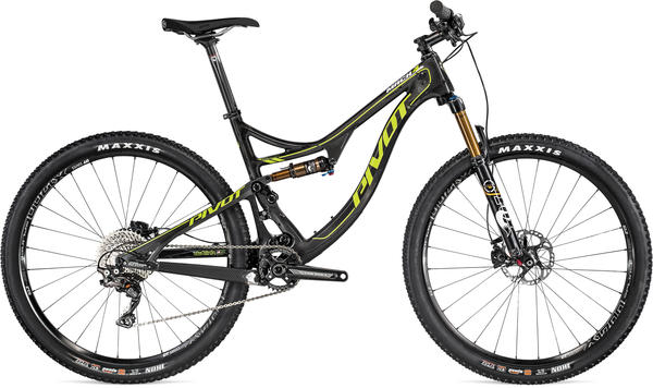 Pivot Cycles MACH 4 Carbon 27.5 Frame Price listed is for frame as defined in Specs (image may differ).