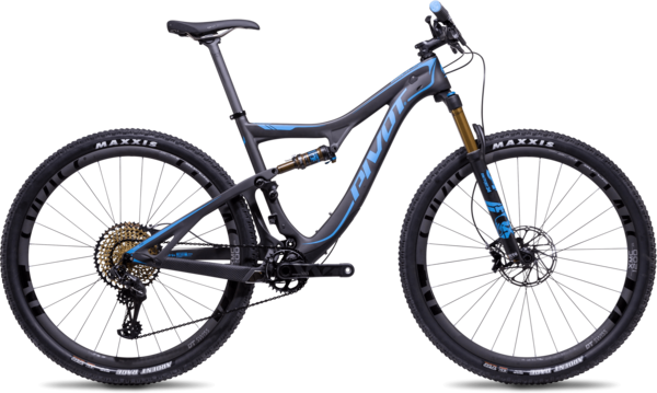 Pivot Cycles Mach 429 SL Carbon 29 Pro XT/XTR Components in image may differ from actual product.