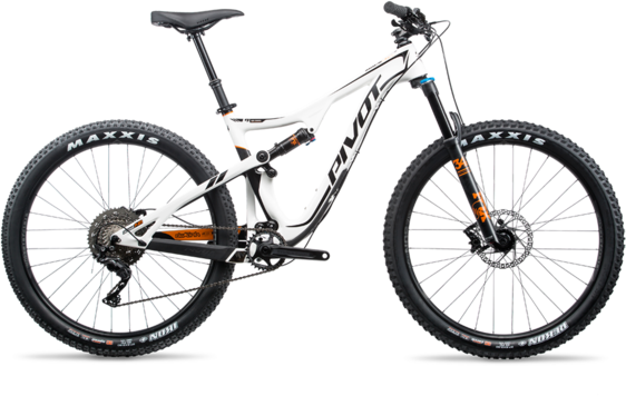 Pivot Cycles Mach 429 Trail Frame Kit Image differs from actual product. See Specifications for what's in the box