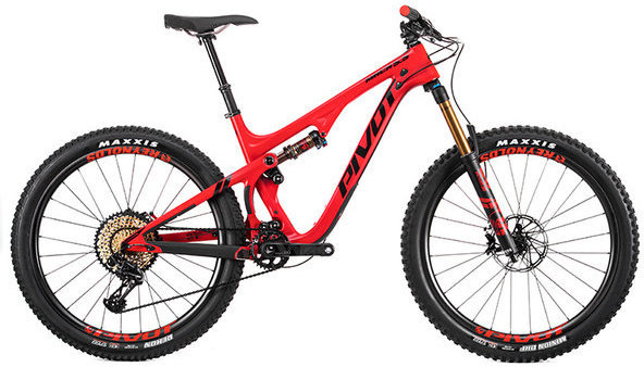 Pivot Cycles Mach 5.5 Carbon TEAM XX1 Eagle Color: Red