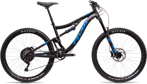 Pivot Cycles Mach 6 Aluminum Pro XT/XTR Components in image may differ from actual product.