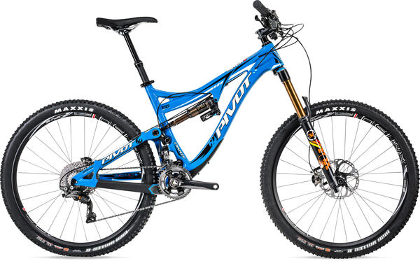 Pivot Cycles Mach 6 Carbon Frame Price listed is for frame as defined in Specs (image may differ).