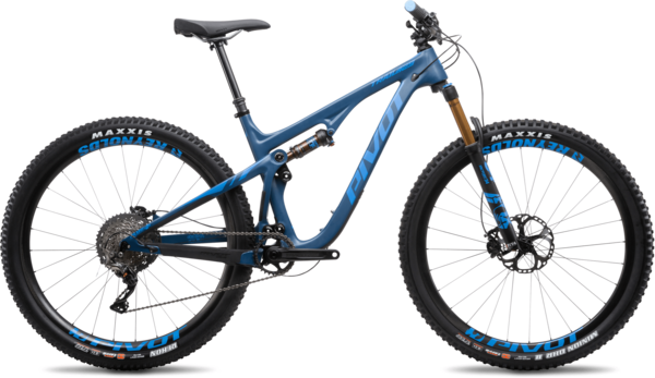 Pivot Cycles Trail 429 Carbon 27.5+ Pro XO1 Components in image may differ from actual product.