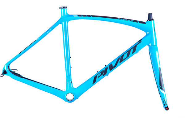 Pivot Cycles Vault Frameset Color: Gloss Blue