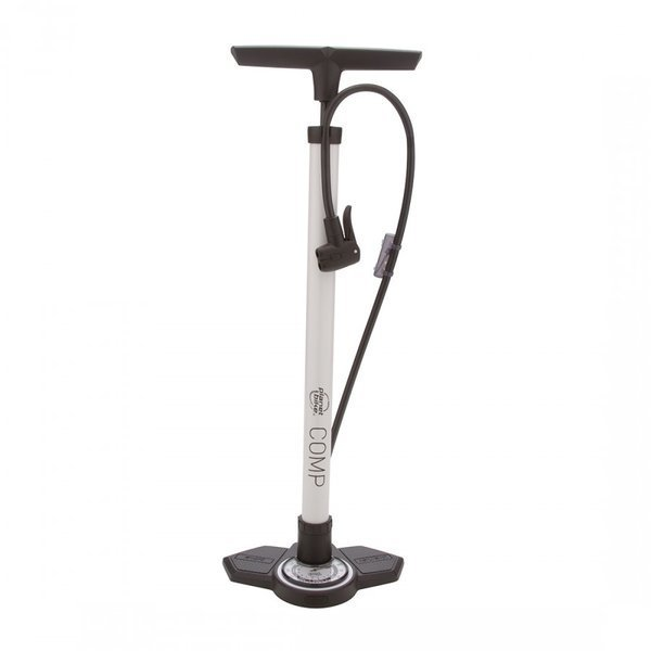 Planet Bike Comp 2.0 Bike Floor Pump Color: Arcade White