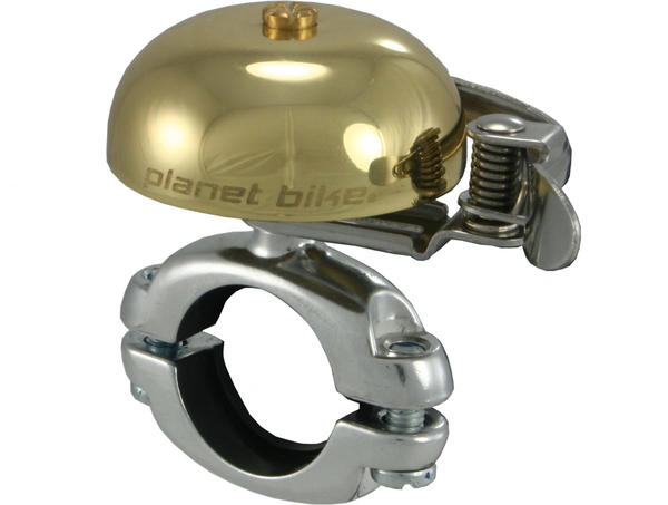Planet Bike Courtesy Bell Classic Color: Brass