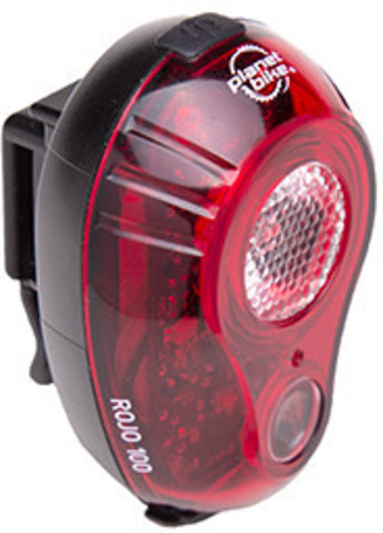 Planet Bike Rojo 100 Tail Light Color: Red