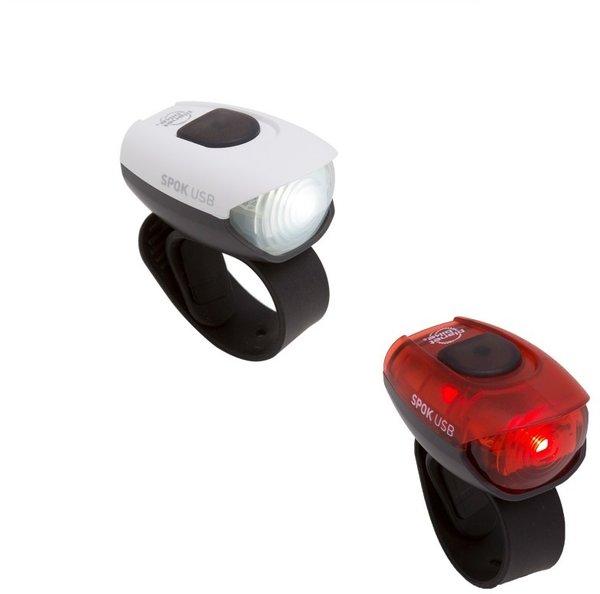 Planet Bike Spok USB Light Set