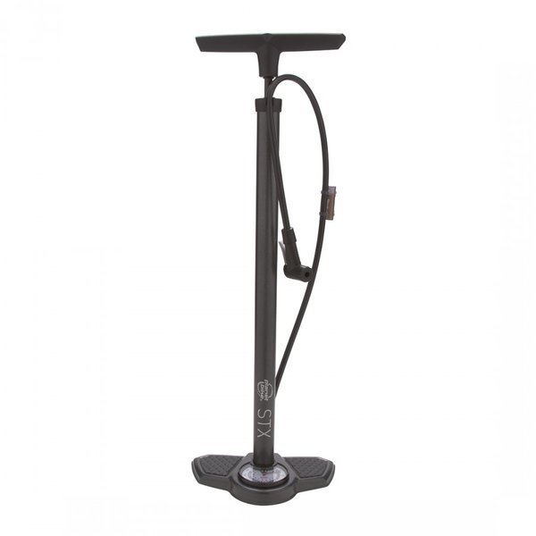 Planet Bike STX Bike Floor Pump Color: Metallic Gray
