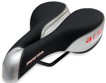 Planet Bike ARS Classic Saddle (Silver/Black)