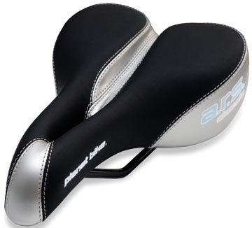 Planet Bike Women's ARS Classic Saddle (Silver/Black)