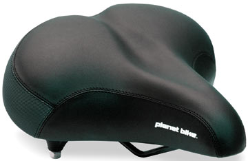 Planet Bike Cruiser Web Spring Saddle