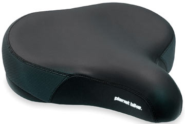 Planet Bike Comfort Tractor Saddle