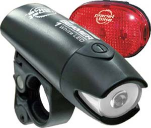 Planet Bike Beamer 1 Light Set