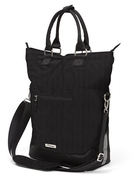 Po Campo Bergen Pannier 2 Color: Black Herringbone