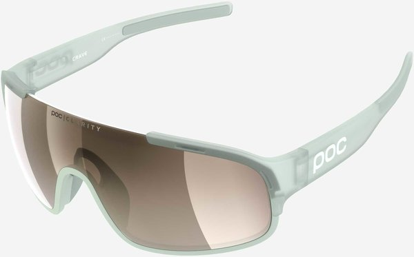 POC Crave Clarity Color | Lens: Apophyllite Green | Brown/Silver Mirror