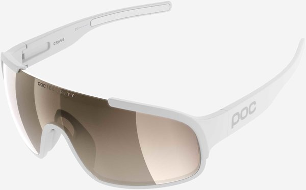 POC Crave Clarity Color | Lens: Hydrogen White | Brown/Silver Mirror