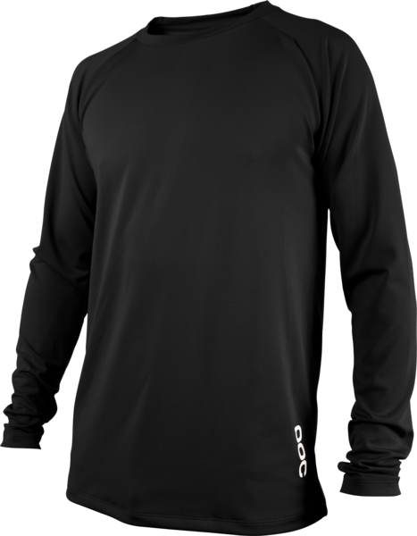 POC Essential DH LS Jersey Color: Carbon Black