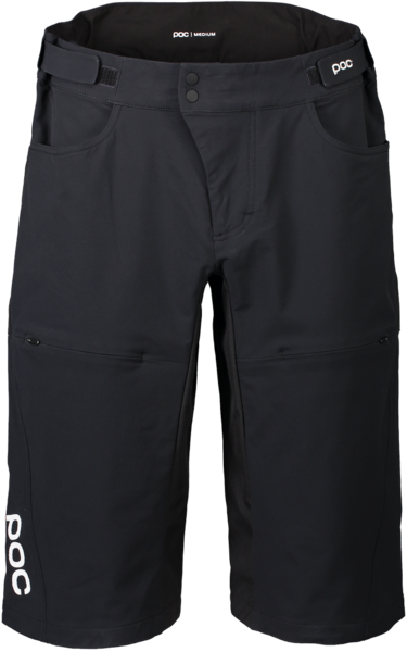 POC Essential DH Shorts Color: Uranium Black