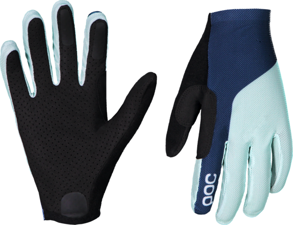 POC Essential Mesh Glove Color: Apophyllite Green/Turmaline Navy