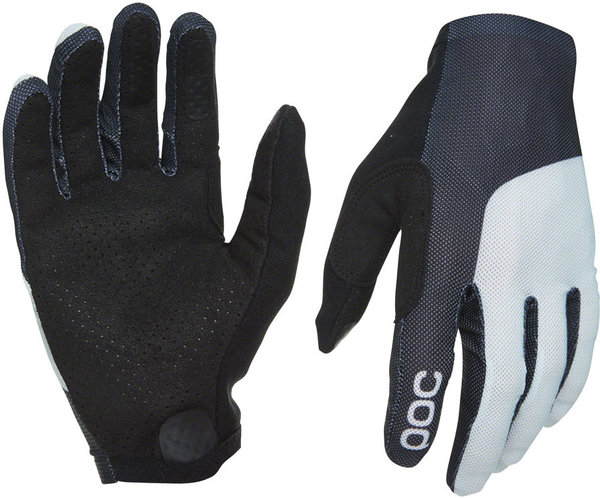 POC Essential Mesh Gloves Color: Uranium Black/Oxolane Gray