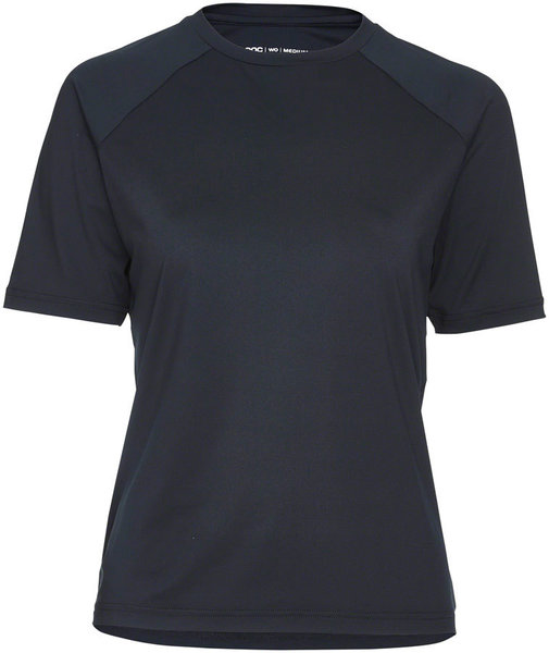 POC Essential MTB Tech T-Shirt Color: Uranium Black