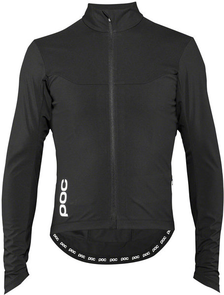 POC Essential Road Windproof Jersey Color: Uranium Black