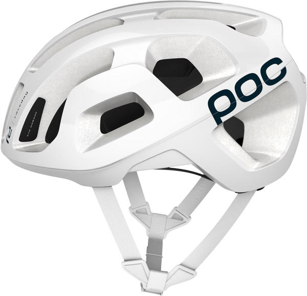 POC Octal Raceday Color: Hydrogen White