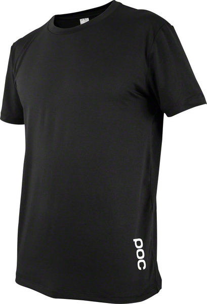 POC Resistance Enduro Light Tee Jersey Color: Carbon Black