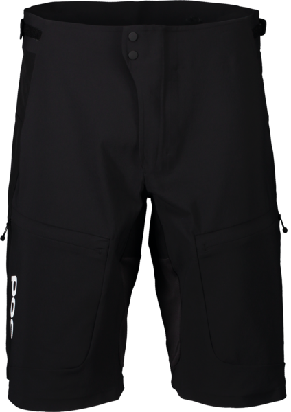 POC Resistance Ultra Shorts Color: Uranium Black