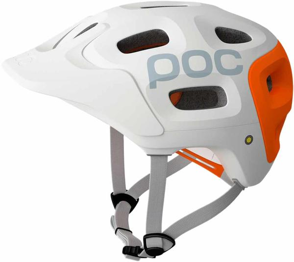 POC Trabec Race Color: White/Orange