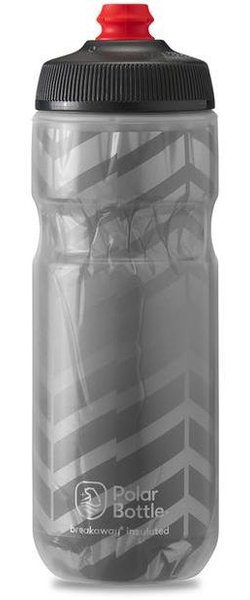 Polar Bottle Breakaway Insulated 20oz Bolt Color: Charcoal/Silver