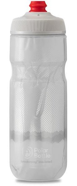 Bicycle Bottle Polar BREAKAWay Insulated 20oz Ridge Charcoal//Silver