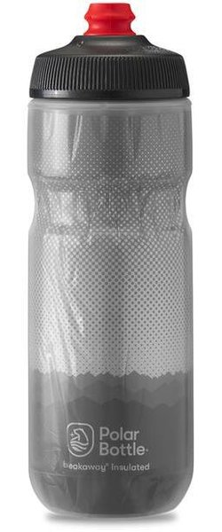 Polar Bottle Breakaway Insulated 20oz Ridge Color: Charcoal/Silver
