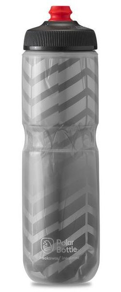 Polar Bottle Breakaway Insulated 24oz Bolt Color: Bolt Charcoal/Silver