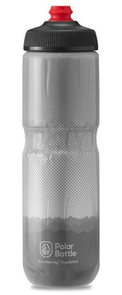 Polar Bottle Breakaway Insulated 24oz Ridge Color: Charcoal/Silver