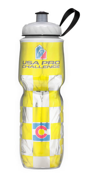 Polar Bottle Insulated Bottle (USA Pro Cycling Challenge Series) Color: Yellow Leader Jersey