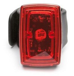 Portland Design Works Asteroid USB Tail Light Color: Black