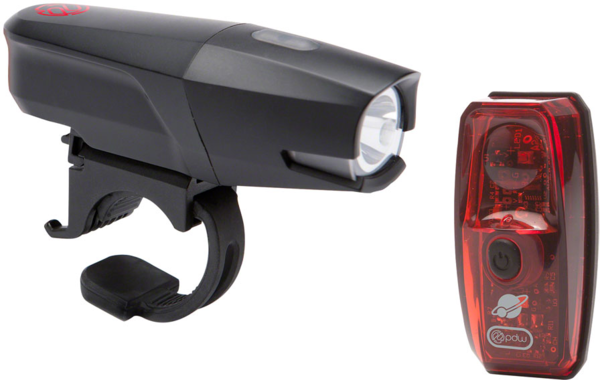 Portland Design Works City Rover 700 and Io Light Set Color: Black