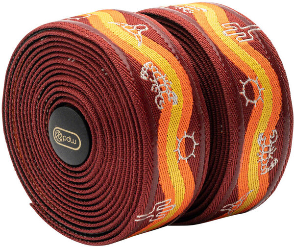 Portland Design Works Wraps w/Silicone Grip Tape Color: Desert Orange/Red