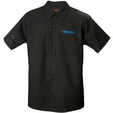 Park Tool Mechanic's Shirt Color: Black