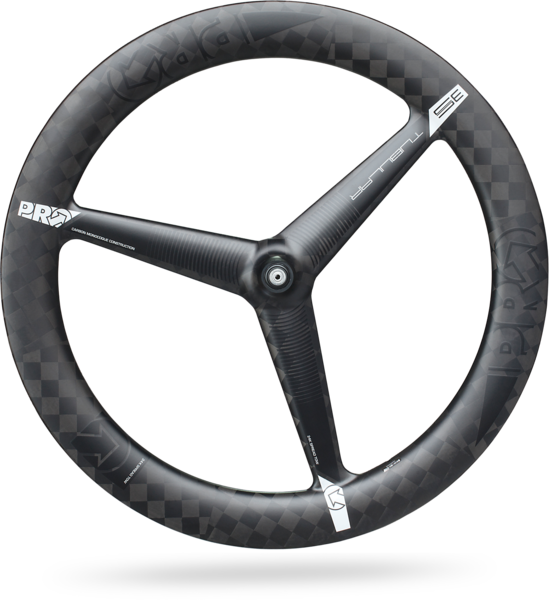 Pro 3-Spoke Textreme Tubular Front Wheel