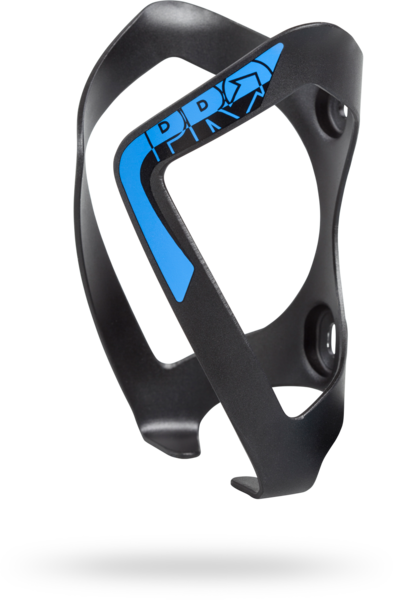 Pro Bottle Cage Alloy Color: Black/Blue