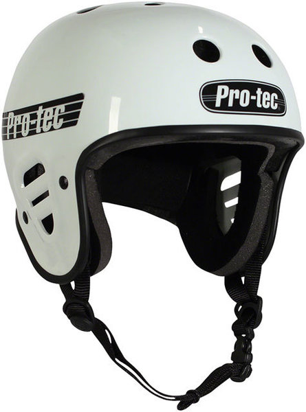 Pro-tec Full Cut Helmet Color: Gloss White