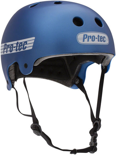 Pro-tec Old School Certified Helmet Color: Matte Metallic Blue