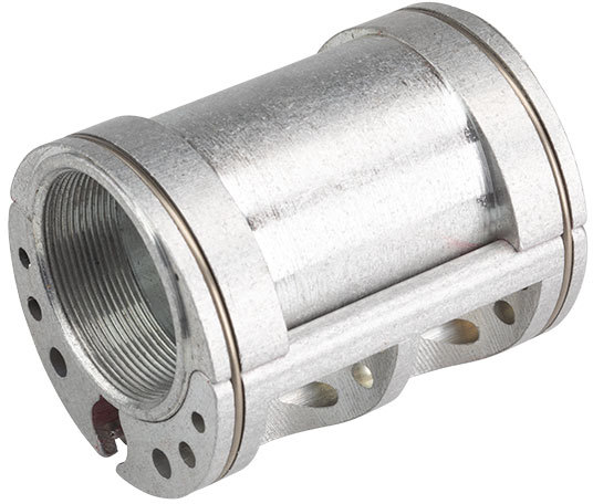 Problem Solvers Bushnell Lightweight Eccentric Bottom Bracket Color: Silver