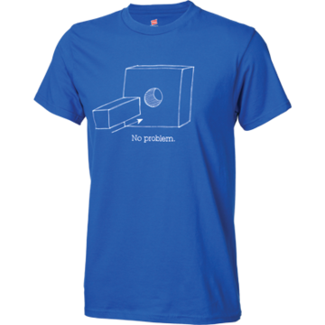 Problem Solvers Square Peg T-Shirt