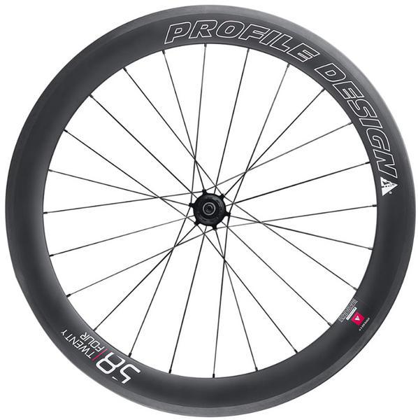 Profile Design 58/TwentyFour Full Carbon Rear Wheel (Clincher)