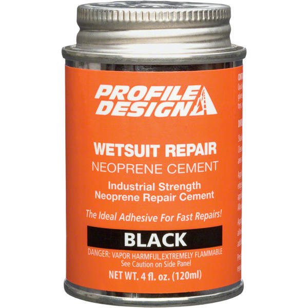 Profile Design Wetsuit Neoprene Repair Cement Size: 4-ounce
